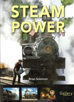 RAILWAYS: STEAM POWER by Brian Solomon World Locomotives & Steam Trains **NEW**