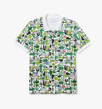 Lacoste x Jeremyville CROCO SERIES Print Unisex Piqué Polo Shirt. L.
