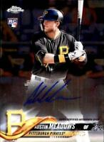2018 Topps Chrome Baseball Rookie Autograph Singles (Pick Your Cards)