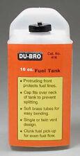 Dubro S16 Square Fuel Tank 16 oz 416