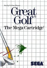 Great Golf - SEGA Master System (Boxed & Good Condition)