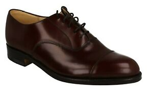 MENS GRENSON LEATHER LACE UP TOE CAP WORK FORMAL OCCASION SHOES SIZE 6374/19