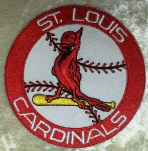 """St. Louis Cardinals Baseball 3.5"""" Iron /Sew On Embroidered Patch~FREE Ship!"""