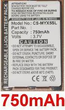 Batería Para Sagem MYX3D, Myx1-2 Trío 3.7V 750mAh