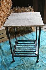 Tisch > Landhaus Tisch > Metall mit Steinplatte > Terrassentisch >