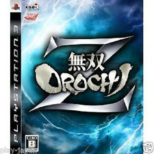Used PS3 Musou Orochi Z Warriors japan import game