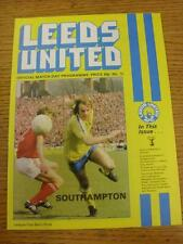 24/01/1979 Football League Cup Semi-Final: Leeds United v Southampton  . Item in