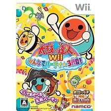 Taiko no Tatsujin Wii /w  Nintendo Wii JAPAN Taiko no Tatsujin 3