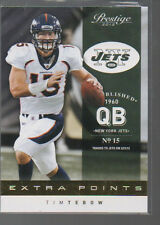 TIM TEBOW 2012 PLAYOFF PRESTIGE EXTRA POINTS PARALLEL #56