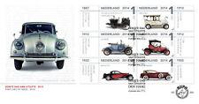 Nederland FDC 690 a en b  OUDE AUTO'S LOUWMAN MUSEUM  2014