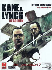 Kane & Lynch: Dead Men - offiz. Lösungsbuch, engl. NEU