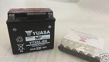 BATTERIE YUASA YTX5L-BS long. 114 largeur 71 h 106 mm