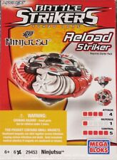 NEW Mega Bloks Battle Strikers Series 1 Ninjutsu  Free Shipping !