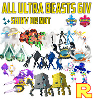 ALL Ultra Beasts 6IV Pack Ultracreature ⚔️ SHINY or NOT 🛡 SWORD & SHIELD ⚔️🛡