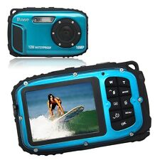 16MP underwater digital video camera, 30ft waterproof, dustproof, freezeproof UK