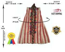 Antique Original Vintage Uzbek Embroidery Robe Chapan Paranji SALE WAS $179.00