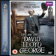 THE LIFE AND TIMES OF DAVID LLOYD GEORGE -  COMPLETE SERIES  *BRAND NEW DVD **