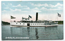 Steamer Sieur de Monts Bar Harbor Maine 1910c postcard