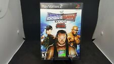 PS2 WWE Smackdown vs. Raw 2008 PlayStation 2 Complete With Manual NICE SHAPE