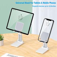 Foldable Tablet Mobile Phone Holder Desk Stand Adjustable For iPad Pro 11 iPhone