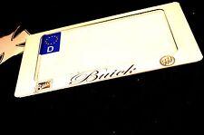 Kennzeichenhalter Us-car Buick 240x130 mm 24x13 cm Chrom VA Edelstahl $$$$$$$$