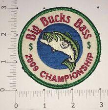 Big Bucks Bass Patch - 2009 Championship