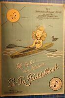Der Sommerschlager 1949 Ich hab' ein kleines Pi-Pa-Paddelboot S.Ulbrich H8345