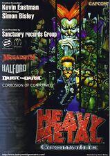 2001 CAPCOM HEAVY METAL GEOMATRIX JP VIDEO FLYER