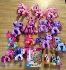 Hasbro My Little Pony MLP Lot 16 Ponies + 24 Piece Puzzle G3.5 era 2009-2010