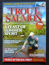 Trout And Salmon, July 2014, Trout Fly of the Month-The Sparkle Dunkeld.