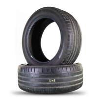 2x Sommerreifen Reifen Dunlop SP Sport Maxx 050+ 275/50 R20 109W DOT 2415 4,5 mm