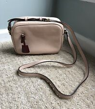 NWT J Crew Signet bag in Italian leather Soft Blossom Pink