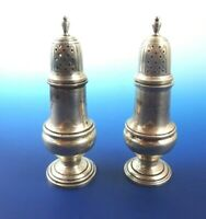 Sterling Silver Salt & Pepper Shaker Set by Shreve, Crump & Low (#2968)