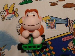 RARE 1993 Takara Mario Kart Donkey Kong Jr Plush Toy Nintendo Official Japan