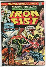 Marvel Premiere #17 - Iron First! - 1974 (Grade 6.0)