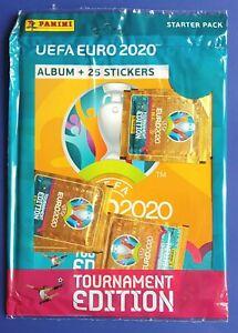 Panini UEFA EURO 2020 Tournament Edition Orange Nordic SWE/FIN/NOR Starterpack