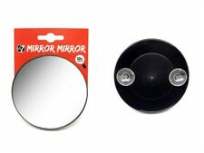 W7 10 X Magnifying Vanity Compact Travel Mirror With Suction Cups