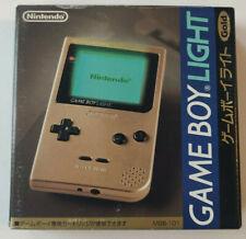 NEW Nintendo Gameboy Light Gold Console VERY RARE!