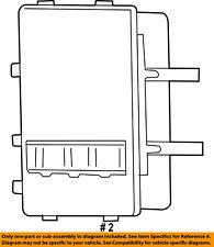 CHRYSLER OEM-ECM PCM ECU Engine Control Module Computer RL094895AB