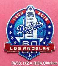 Los Angeles Dodgers 60th Years Patch for iron and sewing on cloth