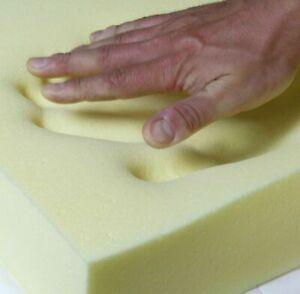 memory foam sheet high density upholstery replacement sofa seat custom cut sizes