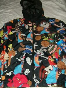 Members Only X Looney Tunes Windbreaker Jacket Space Jam Tune Squad A New Legacy