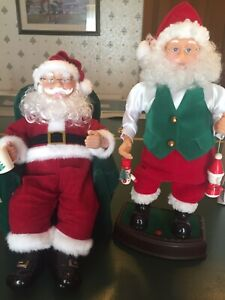 Santa Christmas Singing Dancing Story Telling Battery Operated Vintage Retro