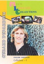 Gerard Depardieu. Francais. 5 movies Collection. Optional English  subtitles
