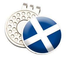 SCOTLAND TOUR GOLF CAP/VISOR CLIP AND BALL MARKER