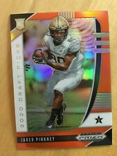 JARED PINKNEY 2020 PANINI PRIZM ORANGE PRIZM REFRACTOR ROOKIE RC FALCONS SP