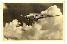 1950s AA American Airlines Issued Douglas DC-3 Postcard
