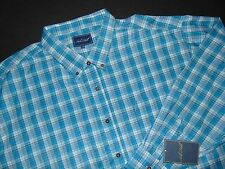 NWT, NOB HILL Button Front Shirt ~ 4XL ~ Big & Tall ~ Long Sleeves
