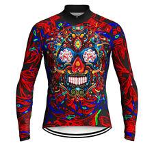 Mexico Skull Cycling Jersey MTB Bike Shirt MTB Road Mountain Clothing Top Jacket