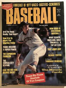 1977 Baseball DETROIT Tigers MARK The Bird FIDRYCH 1977 MLB Prev THURMAN MUNSON